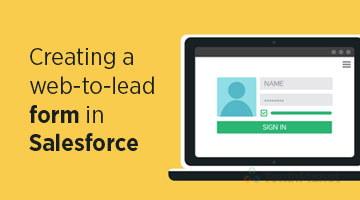 tenthplanet blog salesforce Creating a web to lead form in Salesforce