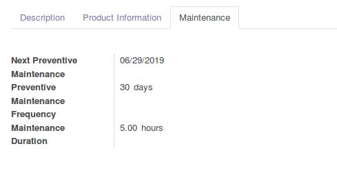 Odoo Maintenance Management img4