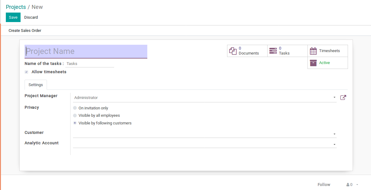 Odoo Project Management img3
