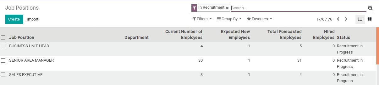 Odoo Recruitment Module img1