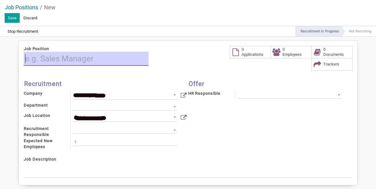 Odoo Recruitment Module img2 1
