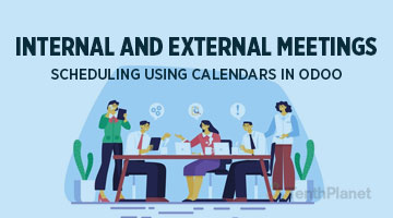 tenthplanet blog odoo Internal and external meetings scheduling using Calendars in Odo