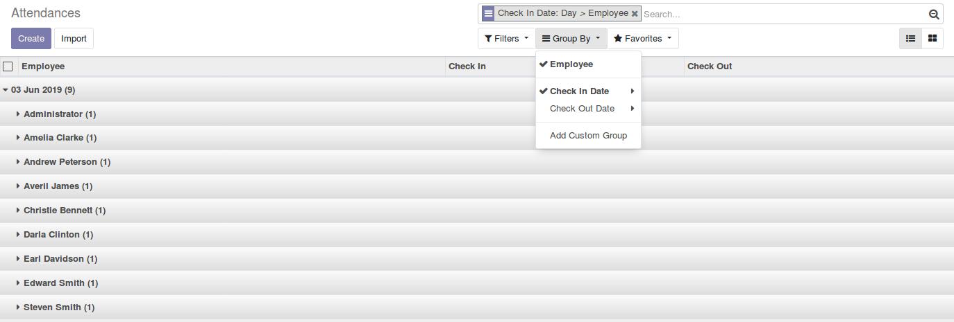 Odoo Employee Attendance Management img14