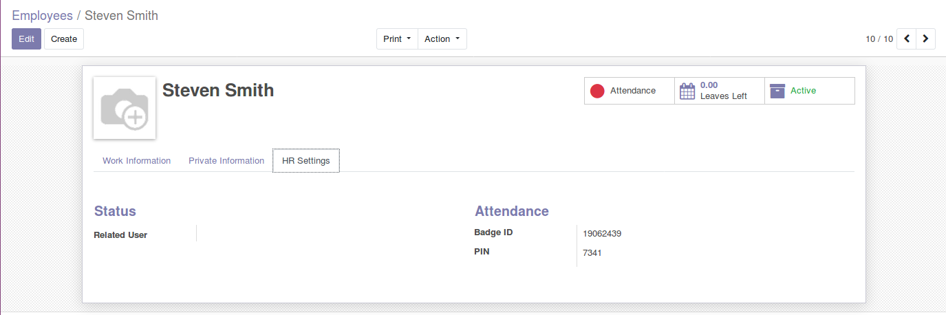 Odoo Employee Attendance Module img7 1