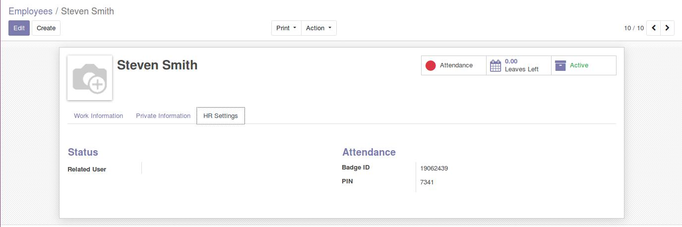 Odoo Employee Attendance Module img7