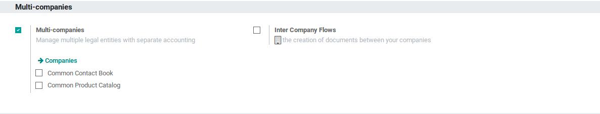 Odoo Multi Companies img1