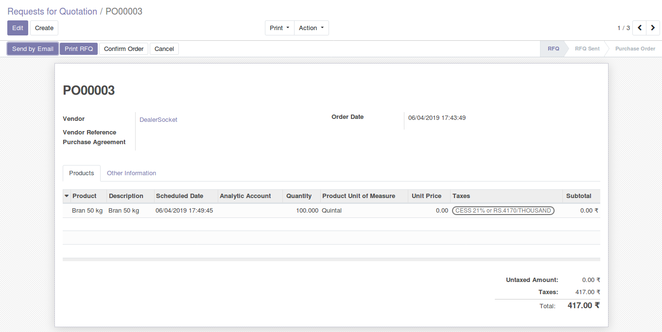Odoo Purchase Management img2 1