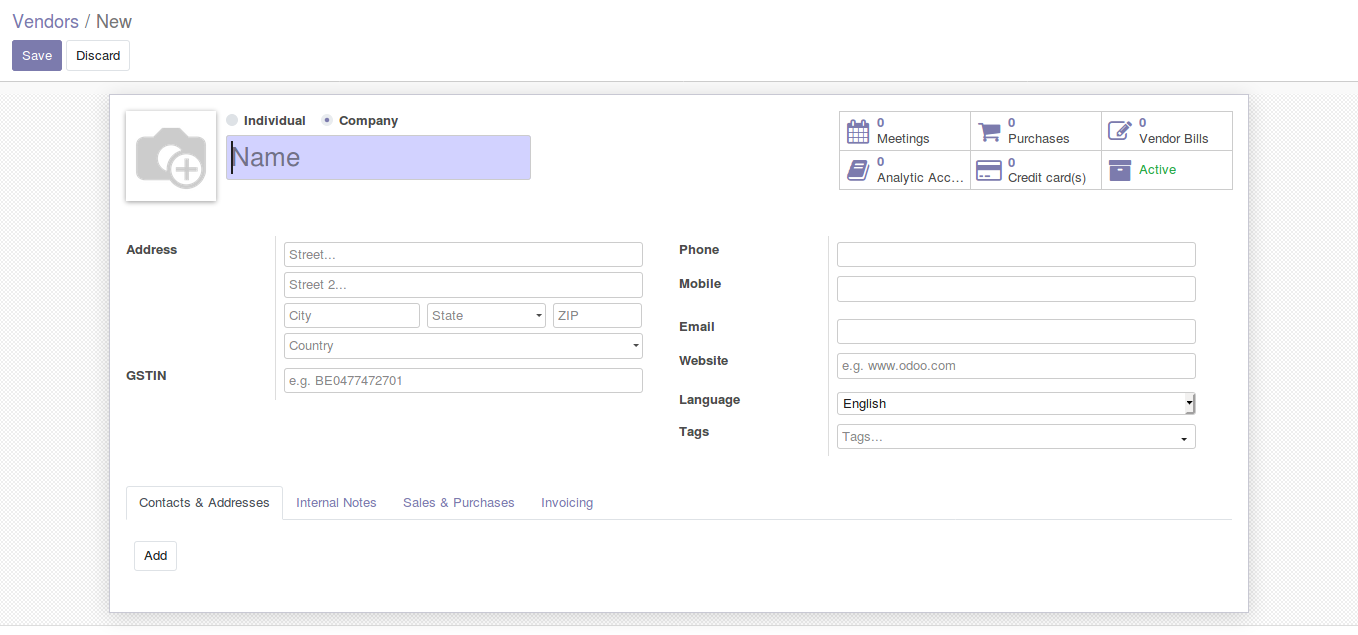 Odoo Purchase Management img21
