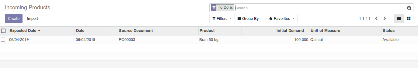 Odoo Purchase Management img8