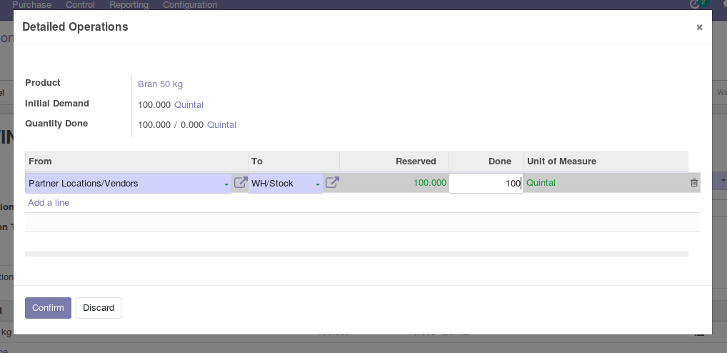 Odoo Purchase Management img9