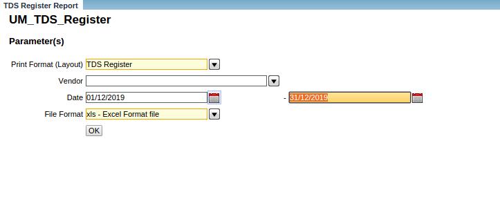 Compiere_Live_steps_TDS_Register