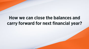 TENTHPLANET COMPIERE BLOG web How we can close the balances and carry forward for next financial year