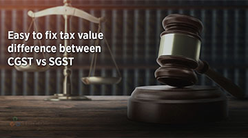 tenthplanet blog compiere Easy to fix tax value difference between CGST vs SGST