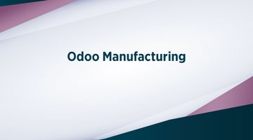 TENTHPLANET ODOO BLOG web Odoo Manufacturing