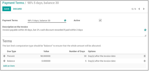 TenthPlanet_Blog_Odoo_How-to-setup-cash-discounts-in-Odoo-1