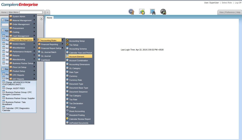 Compiere_ERP_Training_Account Element