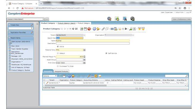 Compiere_ERP_Training_Product_Category