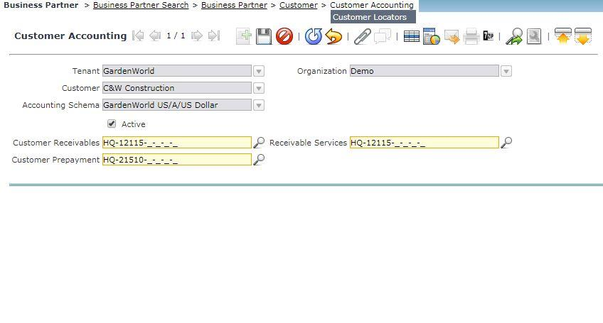 Compiere_ERP_training_Business_Partner_Location Tab