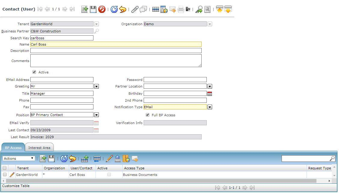 Compiere_ERP_training_Contact user