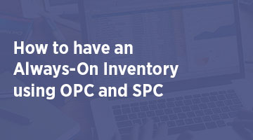 How to have an Always On Inventory using OPC and SPC