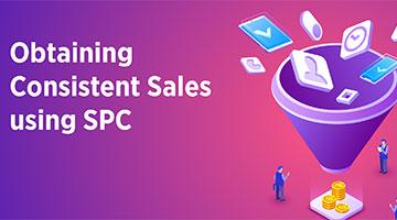 Obtaining Consistent Sales using SPC